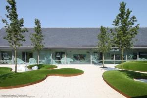 graphics courtyard